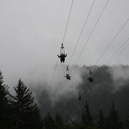 The world's largest Zipline