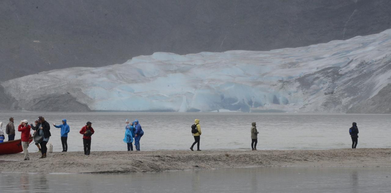 Juneau and MendenhallGlacier