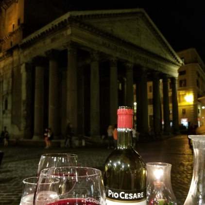 Dinner by the Pantheon