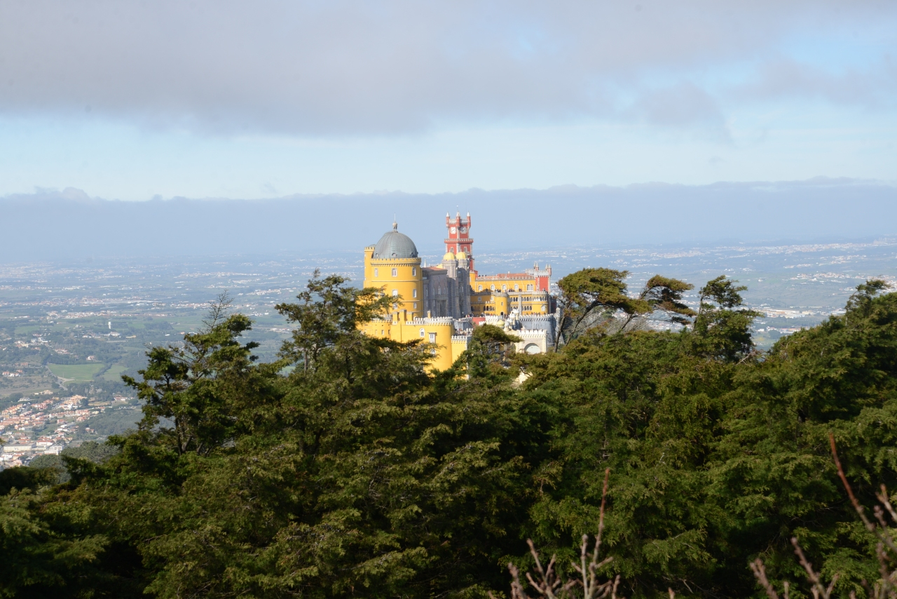 The Pena Palace a must see in Sintra