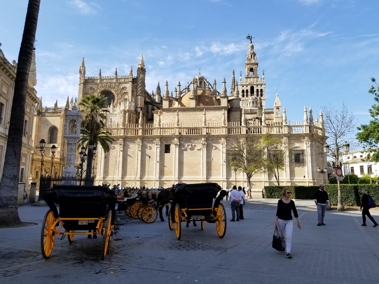 Day 2 of our whirlwind walking tour of Seville
