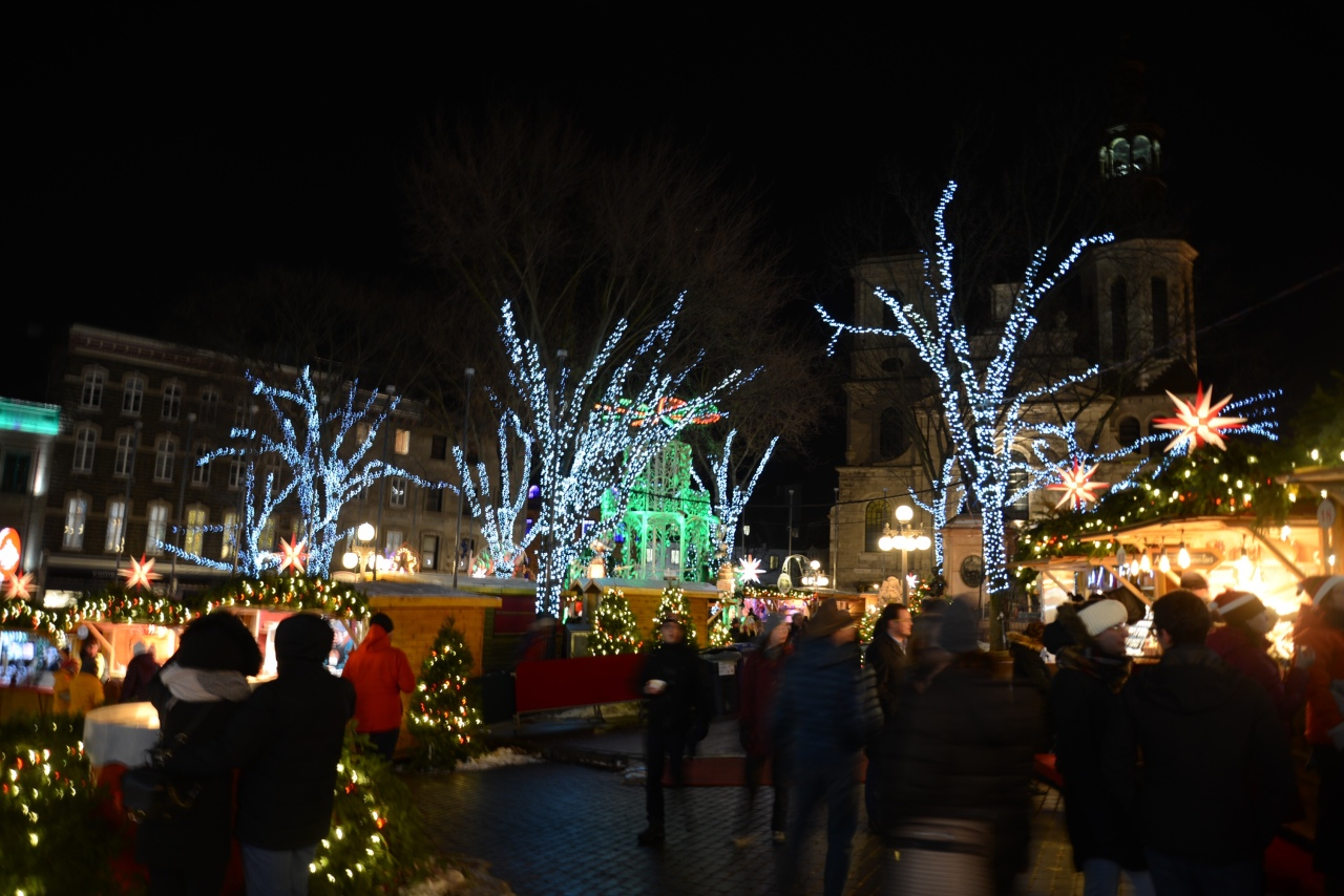 Quebec City Christmas Market